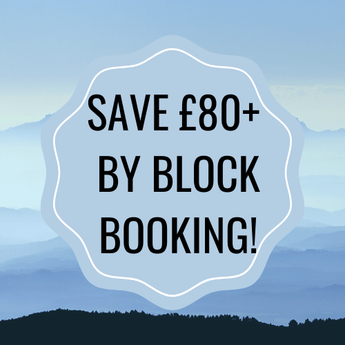 save £80 by block booking!