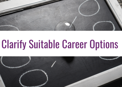 clarify suitable career options