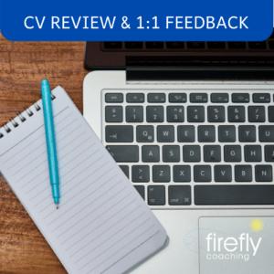 CV Review & 1:1 Feedback
